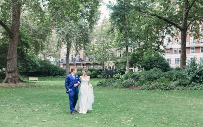 MR & MRS RADCLIFFE'S HOME HOUSE WEDDING